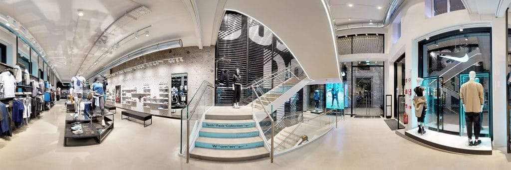 Matter Port 360 Overview Nike Store Milan